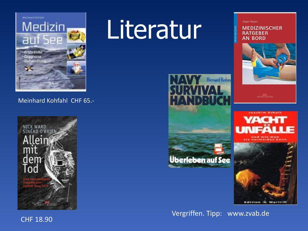 Literatur Vergriffen. Tipp: www.zvab.de CHF 18.90