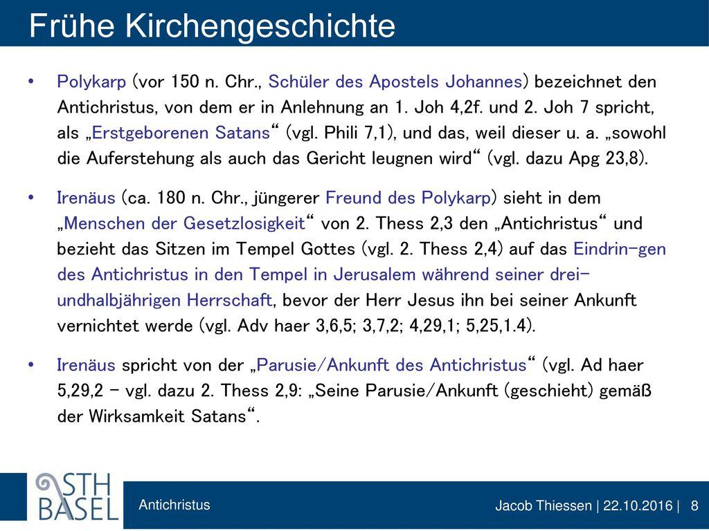 Frühe Kirchengeschichte