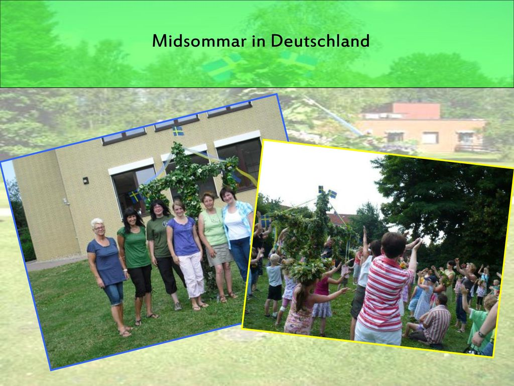 Midsommar in Deutschland