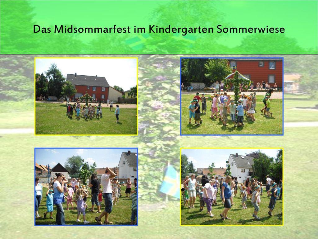 Das Midsommarfest im Kindergarten Sommerwiese