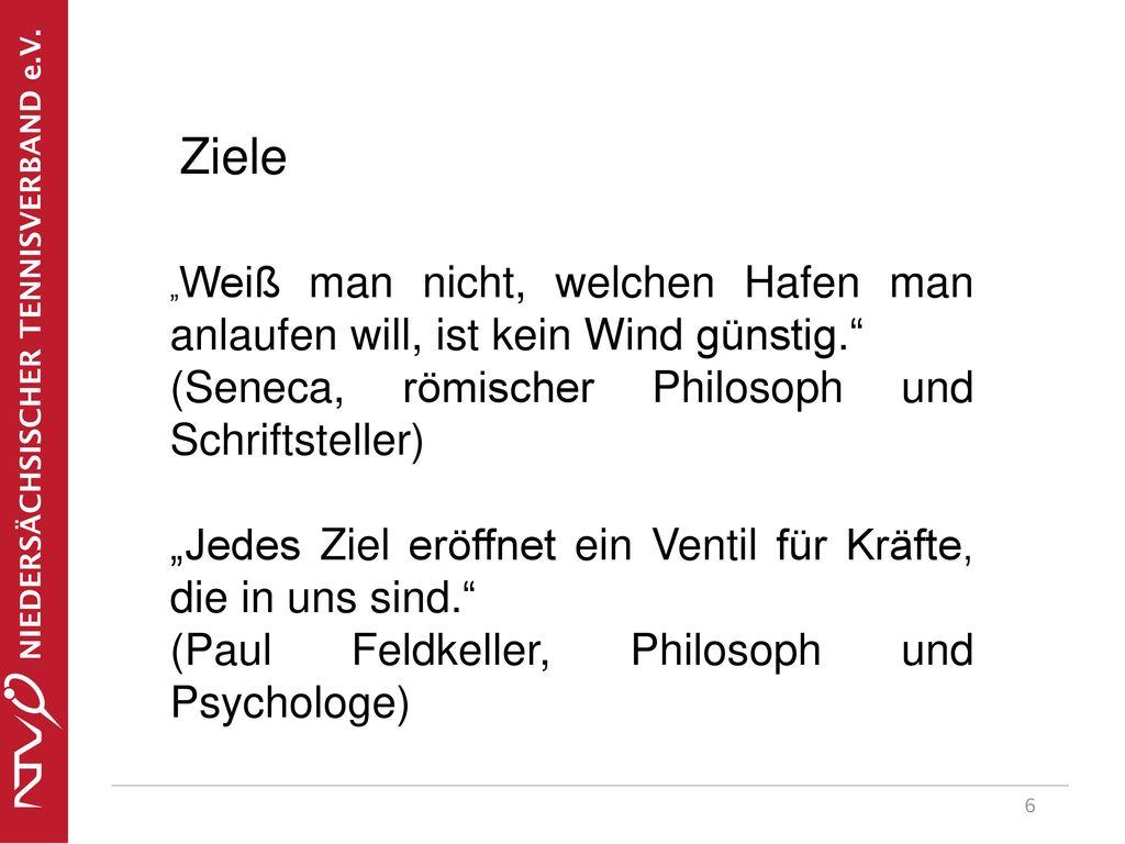 Ziele (Seneca, römischer Philosoph und Schriftsteller)