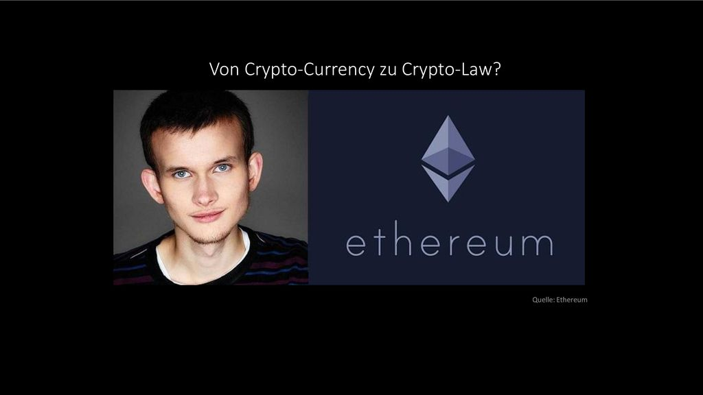 Von Crypto-Currency zu Crypto-Law