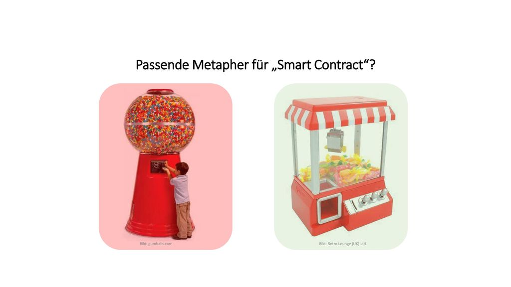 "Passende Metapher für ""Smart Contract"