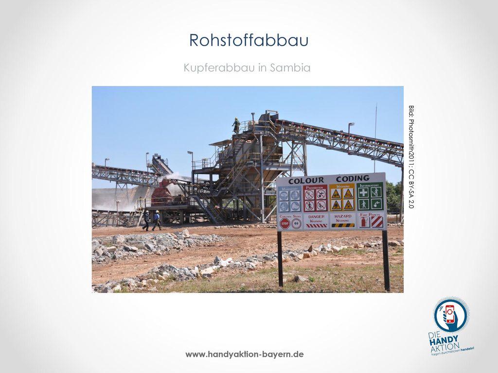 Rohstoffabbau Kupferabbau in Sambia
