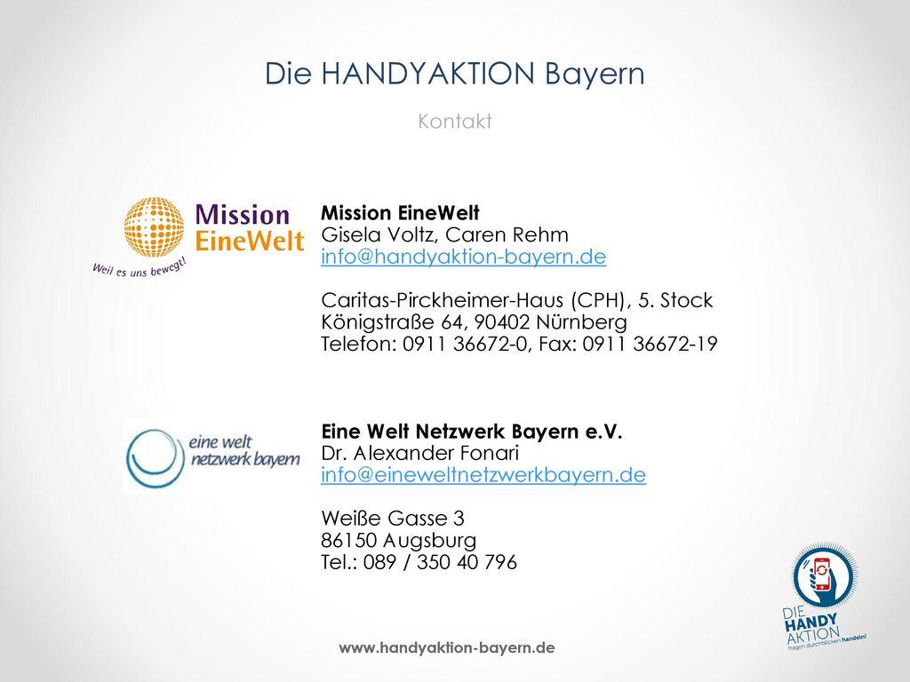 Die HANDYAKTION Bayern Kontakt