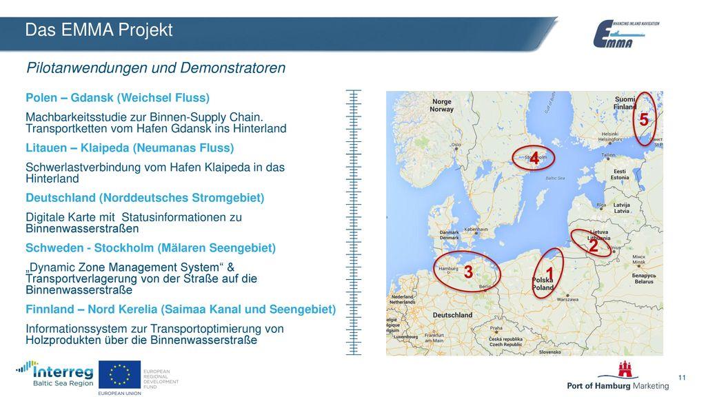 Das EMMA Projekt Pilotanwendungen und Demonstratoren