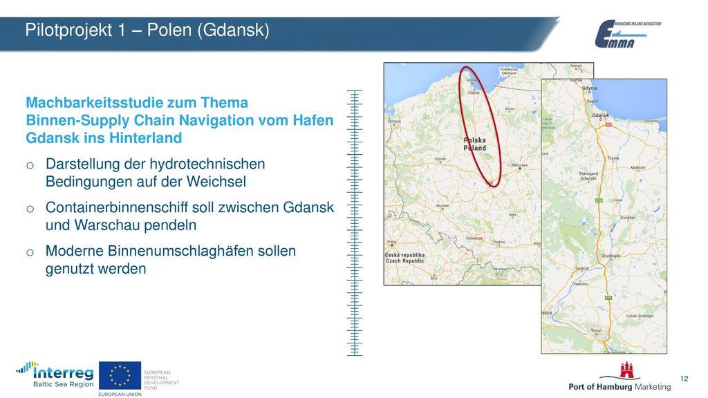 Pilotprojekt 1 – Polen (Gdansk)