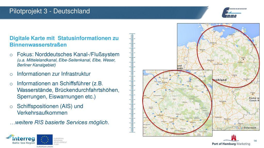 Pilotprojekt 3 - Deutschland