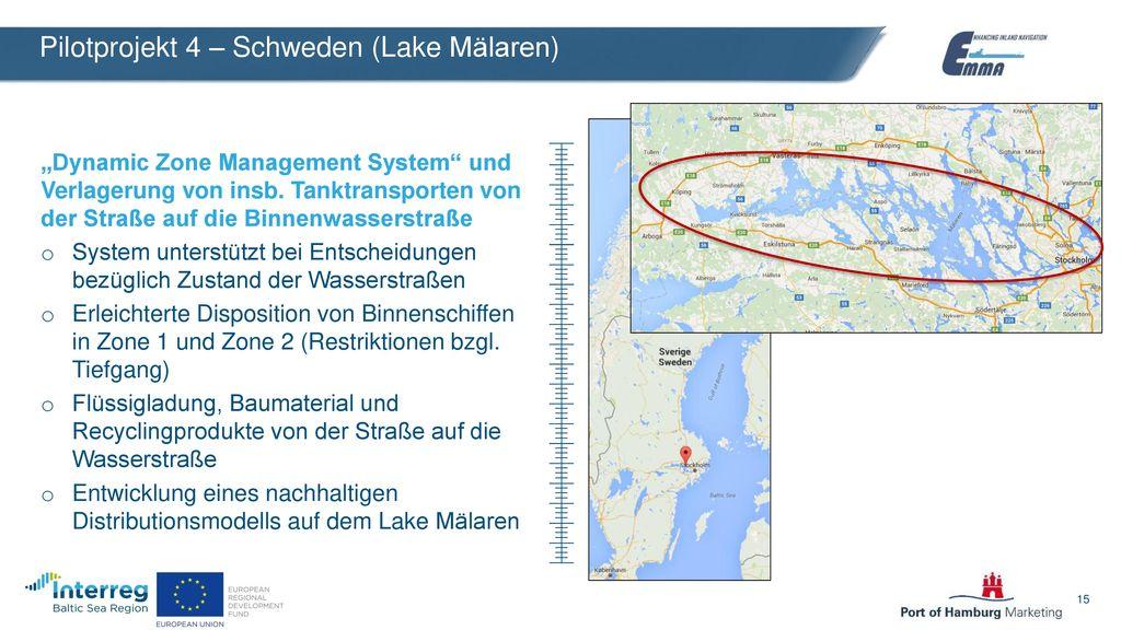 Pilotprojekt 4 – Schweden (Lake Mälaren)