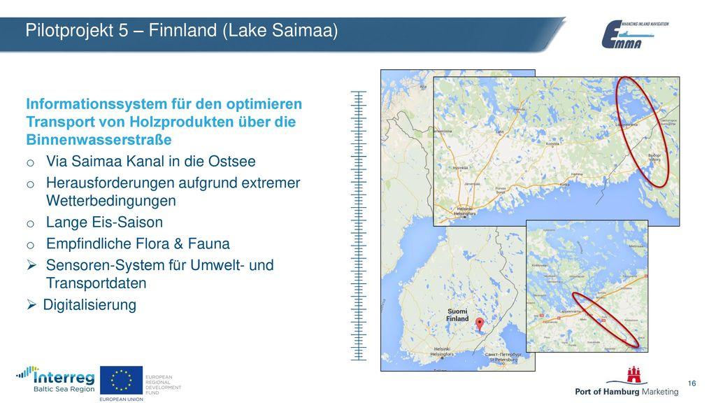 Pilotprojekt 5 – Finnland (Lake Saimaa)