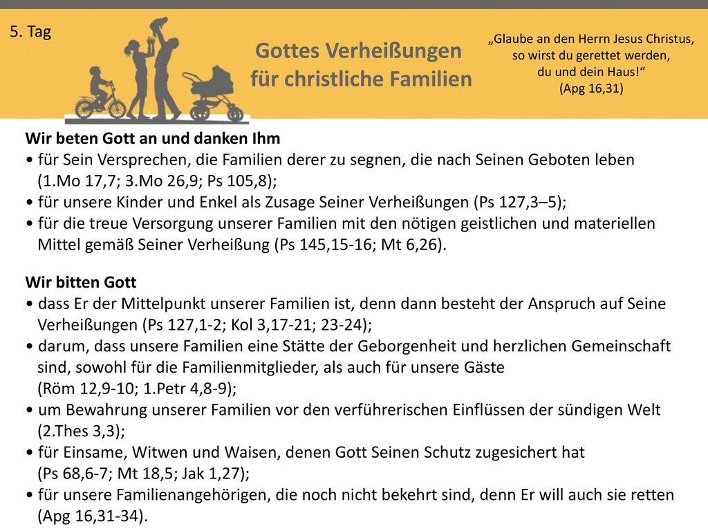für christliche Familien