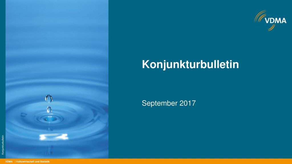 Konjunkturbulletin September 2017 Konjunkturbulletin