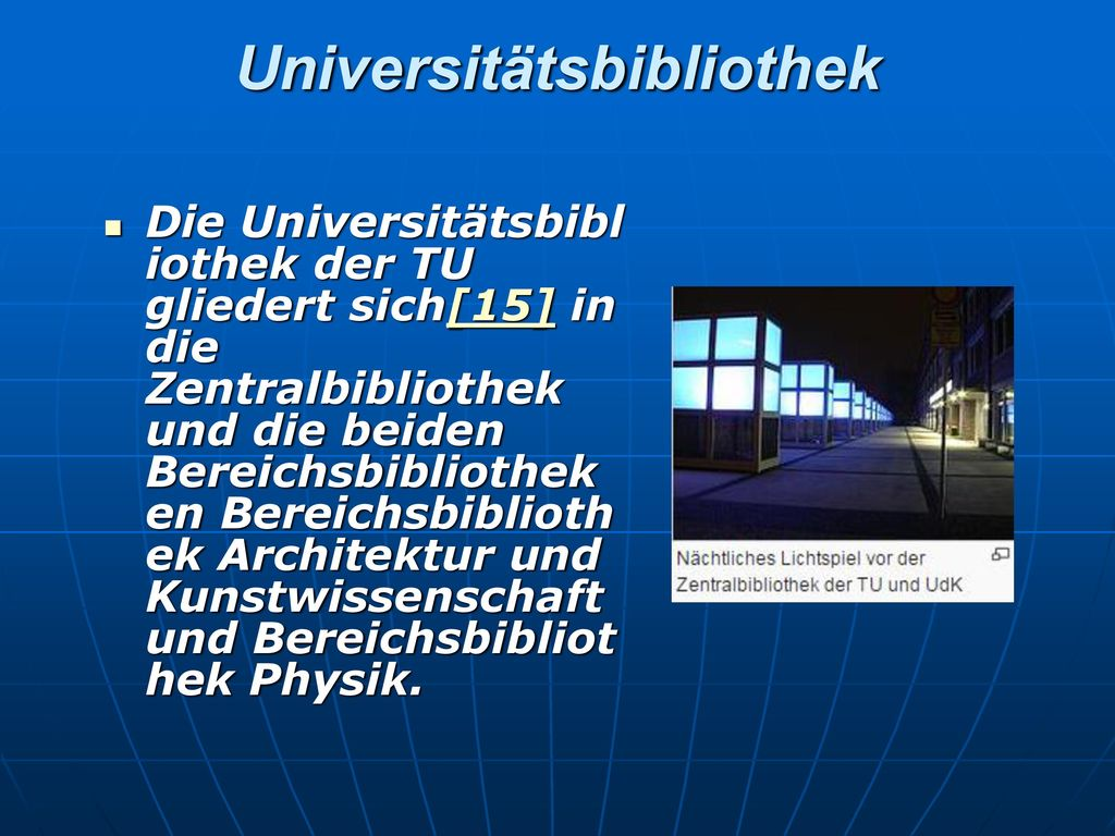 Universitätsbibliothek