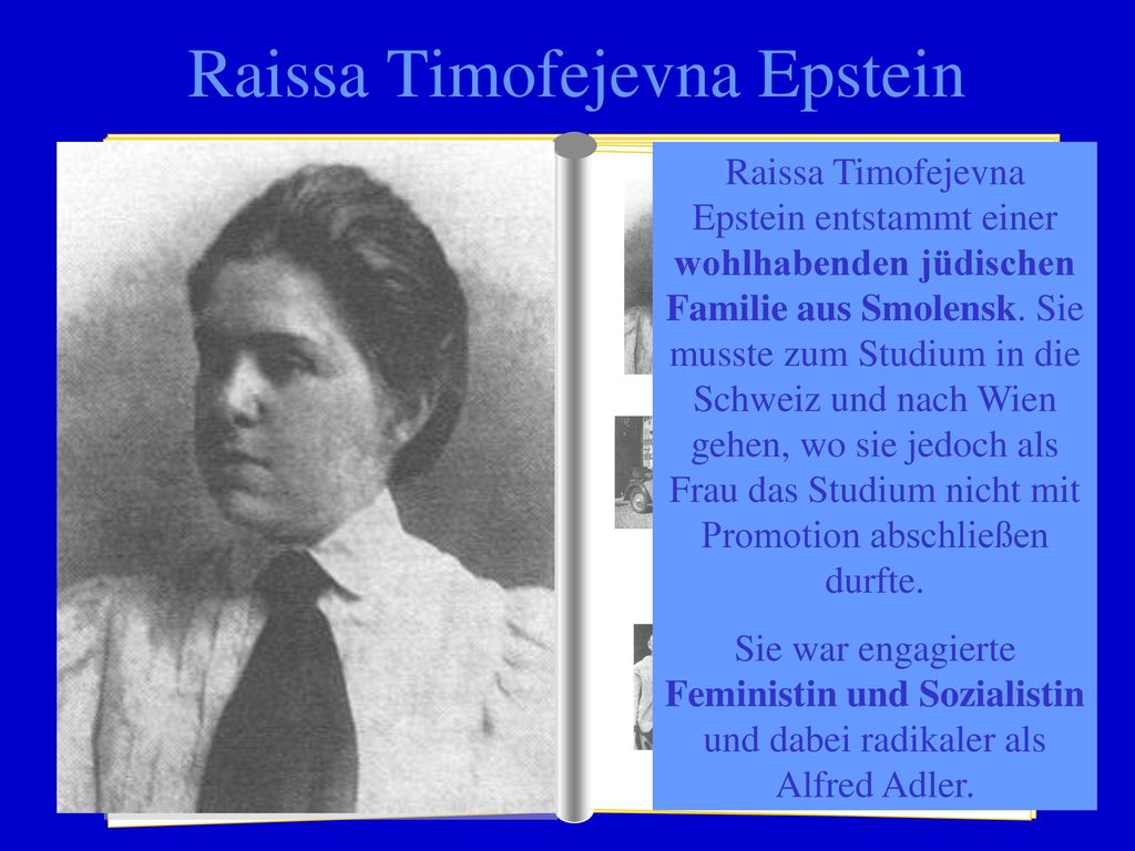Raissa Timofejevna Epstein