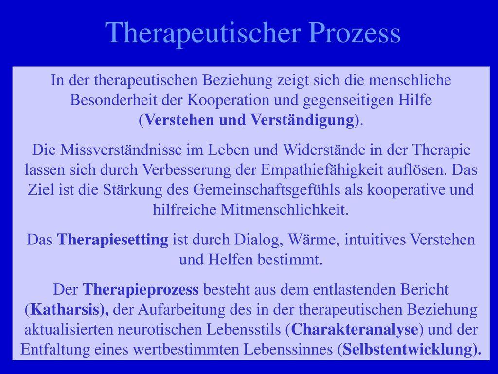 Therapeutischer Prozess