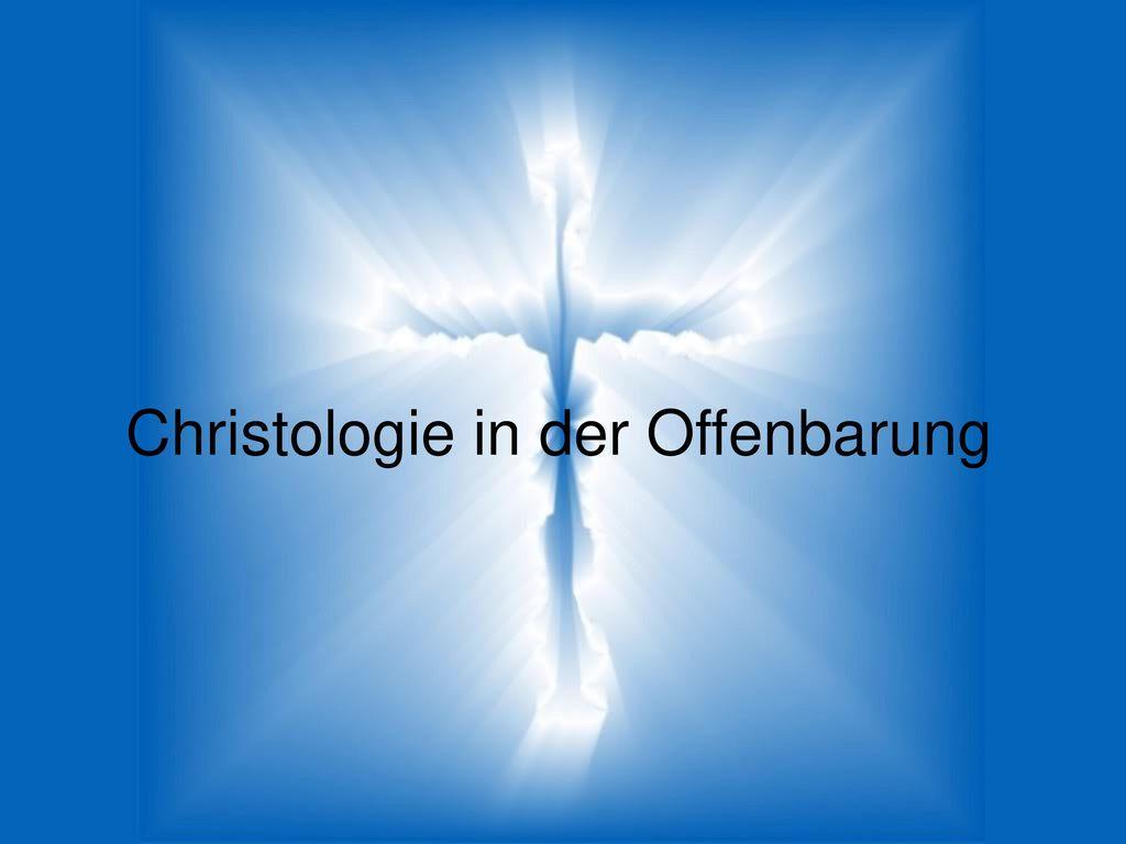 Christologie in der Offenbarung