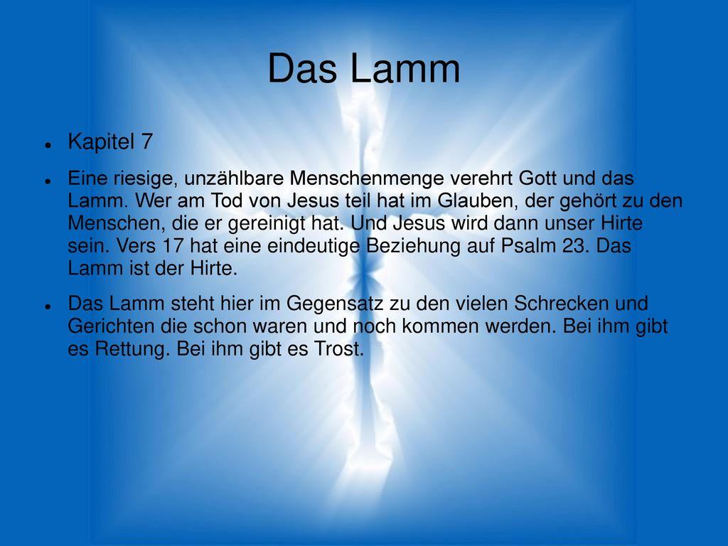 Das Lamm Kapitel 7.