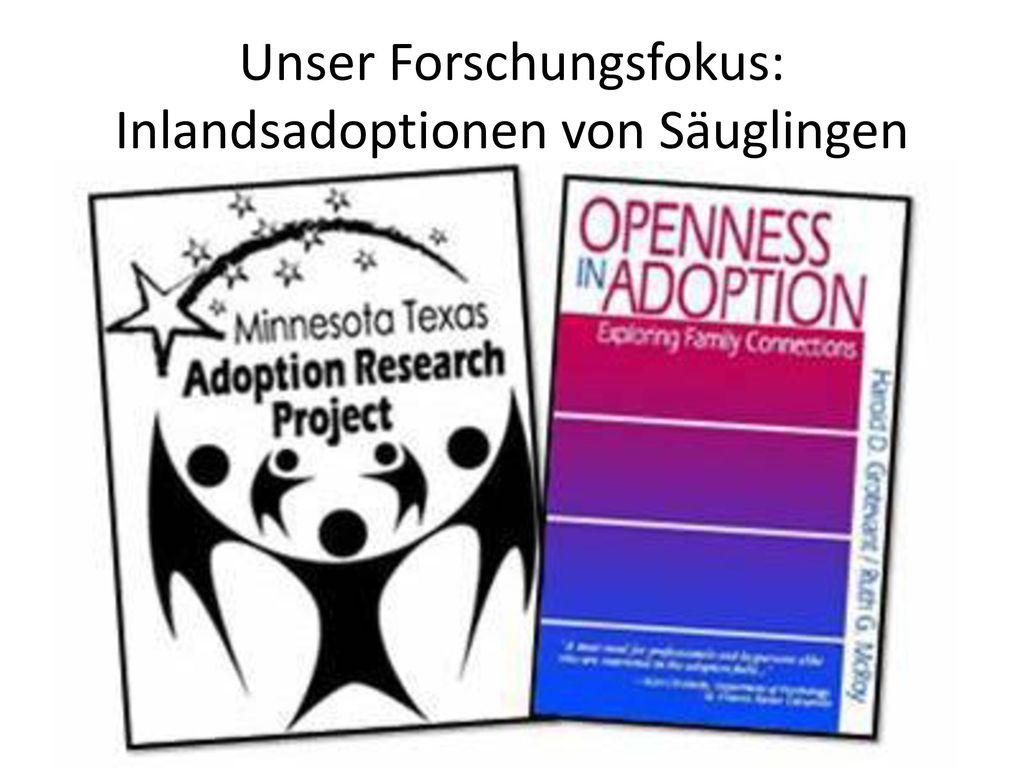 Unser Forschungsfokus: Inlandsadoptionen von Säuglingen