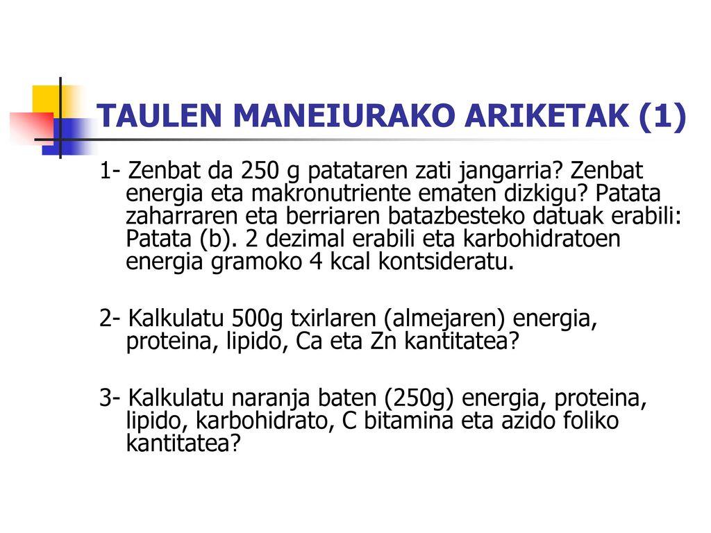 TAULEN MANEIURAKO ARIKETAK (1)
