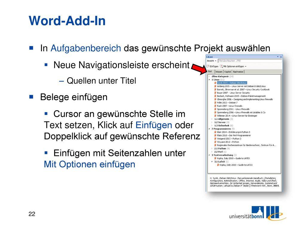 Word Add-In pp. statt S. A) Zitationsstil wechseln > englischen Stil wählen. B) Zitationsstil bearbeiten.