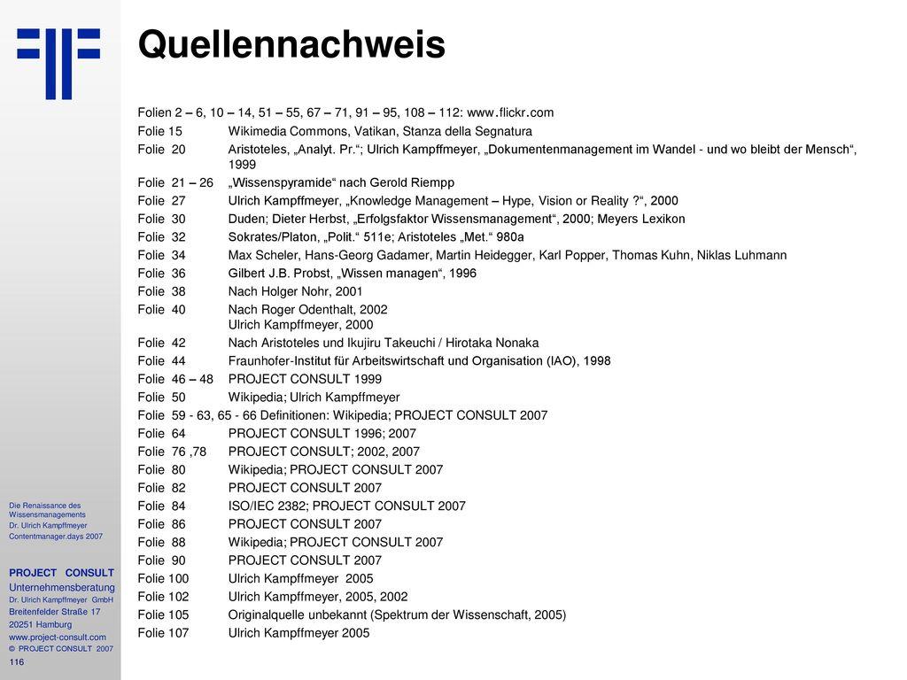 Quellennachweis Folien 2 – 6, 10 – 14, 51 – 55, 67 – 71, 91 – 95, 108 – 112: www . flickr . com.