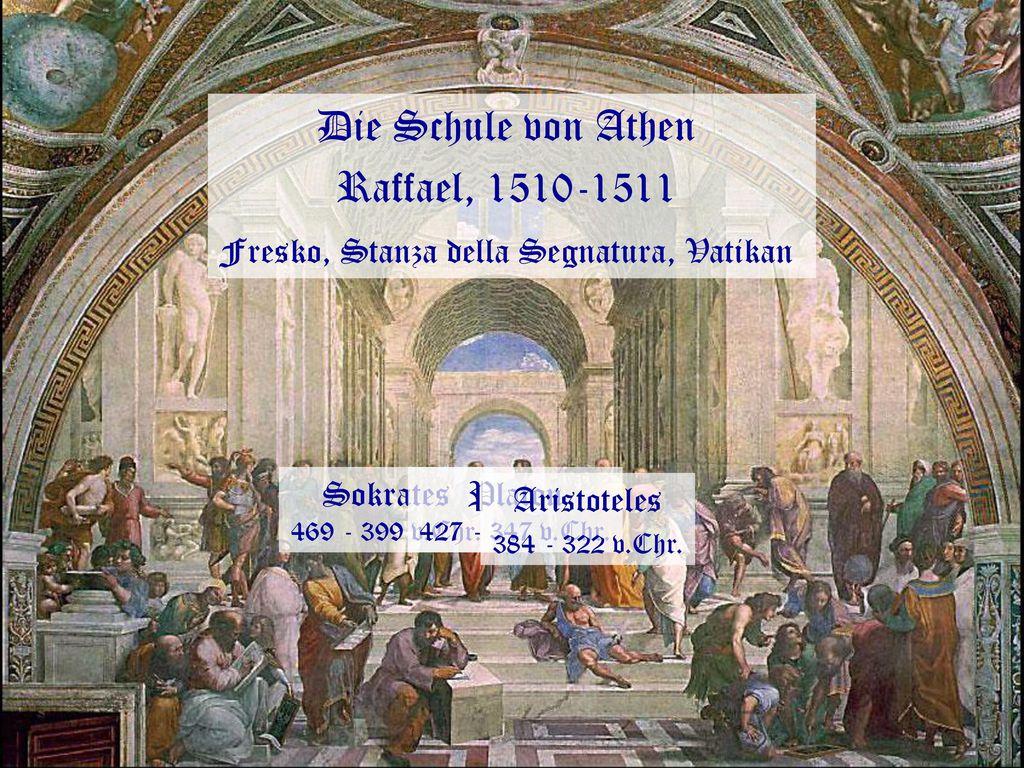 Fresko, Stanza della Segnatura, Vatikan