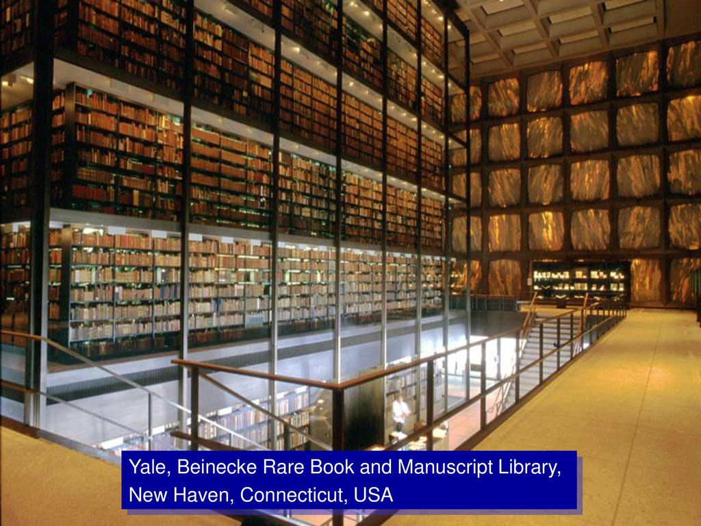 Yale, Beinecke Rare Book and Manuscript Library,