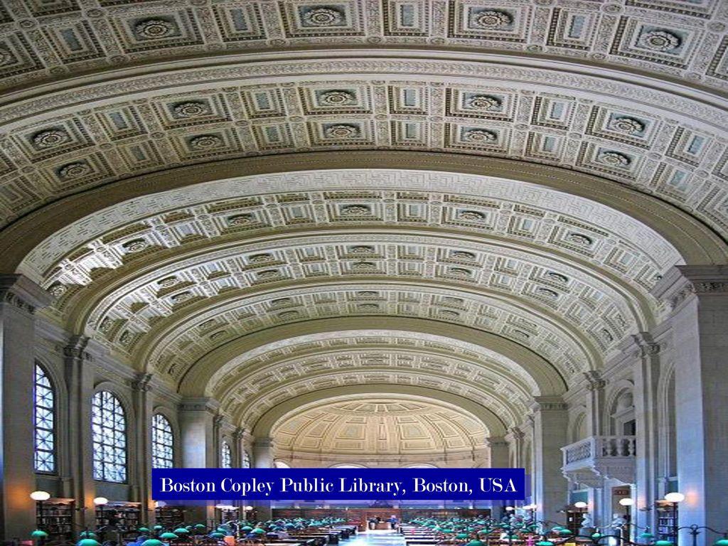 Boston Copley Public Library, Boston, USA