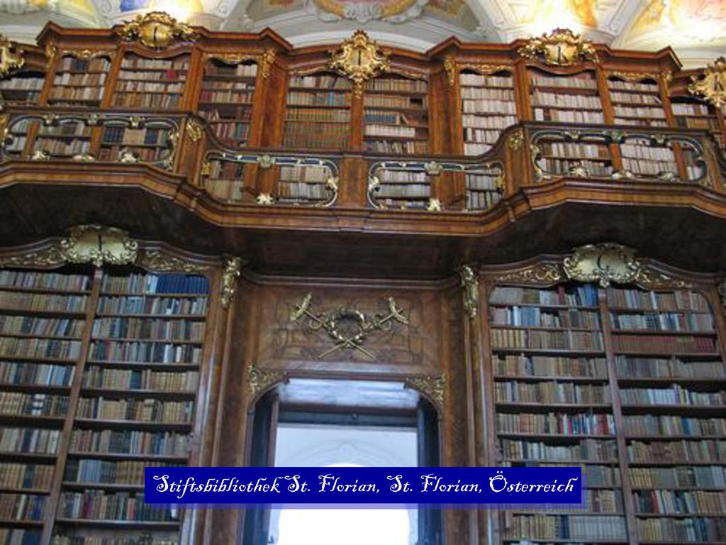 Stiftsbibliothek St. Florian, St. Florian, Österreich