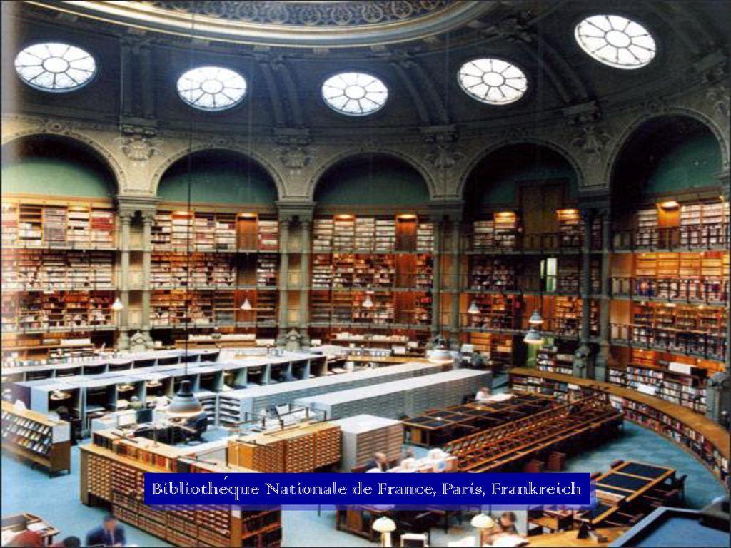 Bibliothéque Nationale de France, Paris, Frankreich