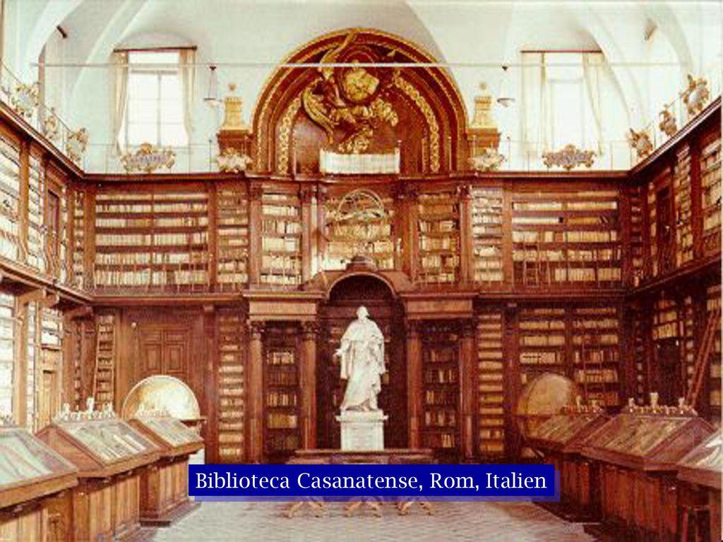 Biblioteca Casanatense, Rom, Italien