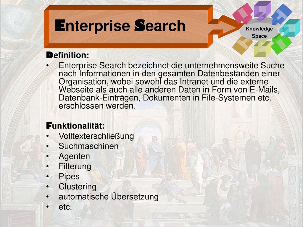 Enterprise Search Definition: