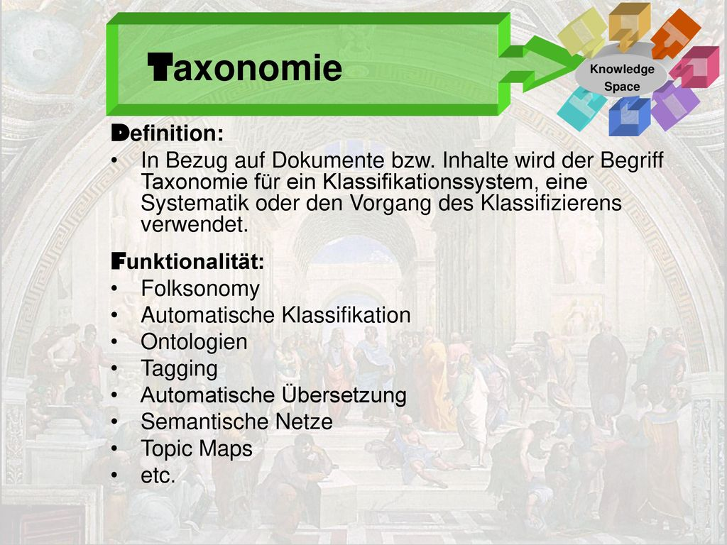 Taxonomie Definition: