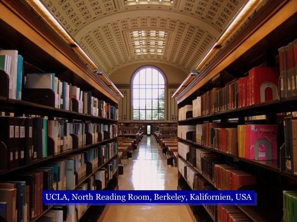 UCLA, North Reading Room, Berkeley, Kalifornien, USA