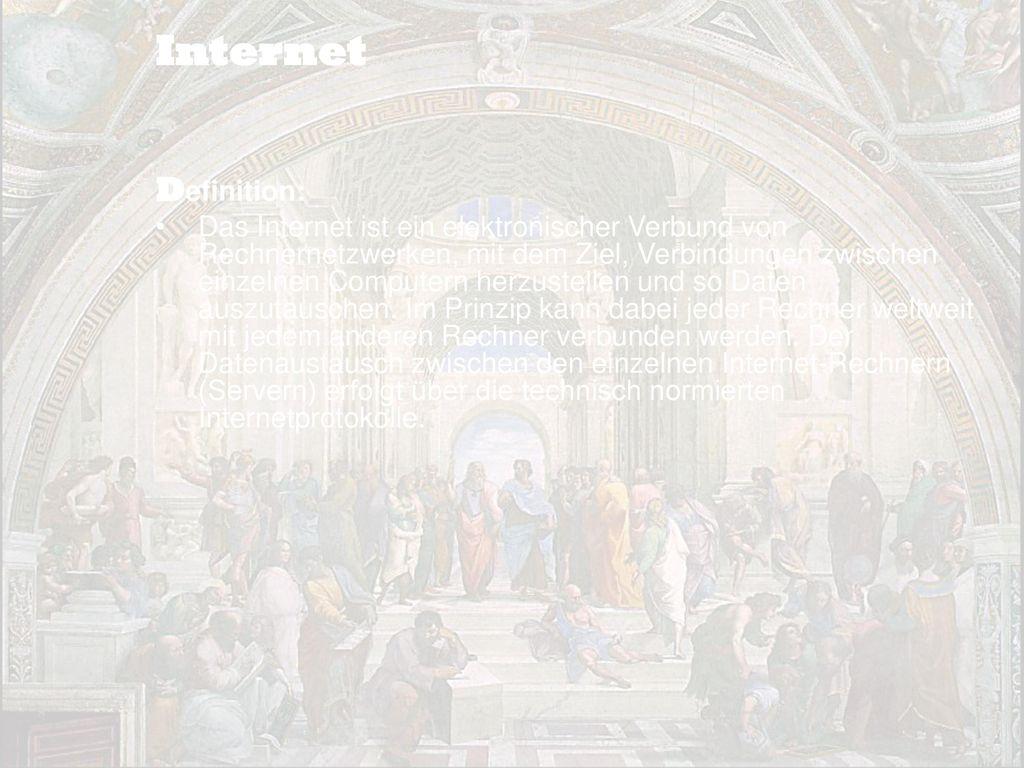 Internet Definition: