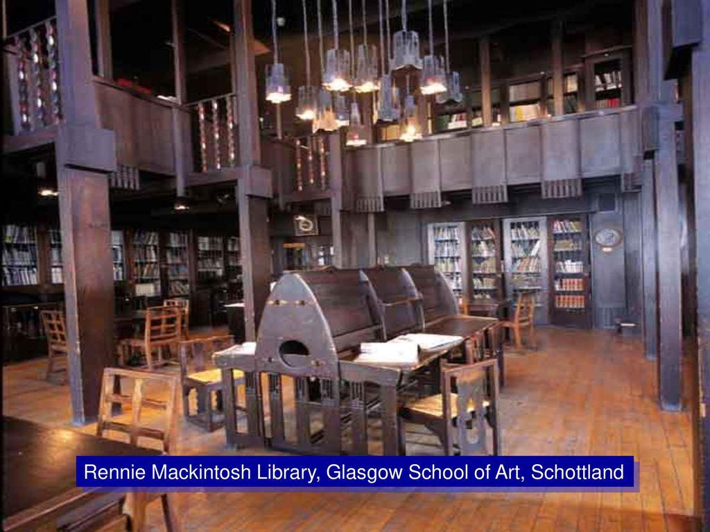 Rennie Mackintosh Library, Glasgow School of Art, Schottland