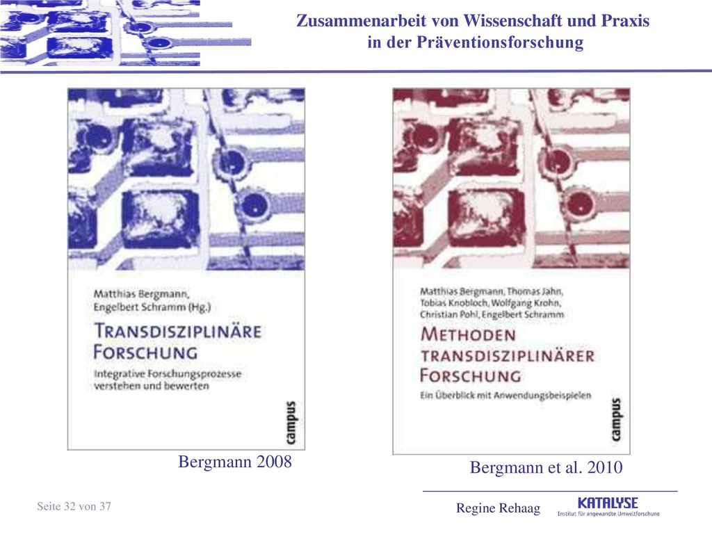 Bergmann 2008 Bergmann et al. 2010 Seite 32 von 37