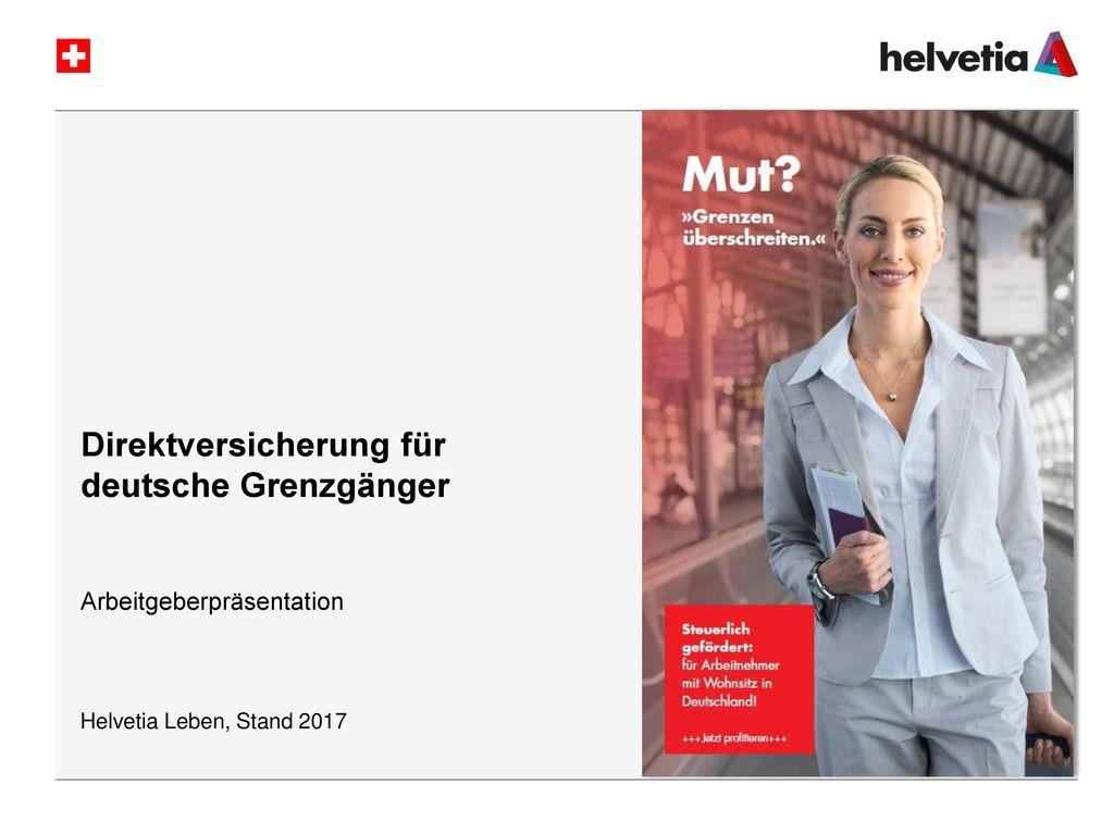 Direktversicherung für deutsche Grenzgänger
