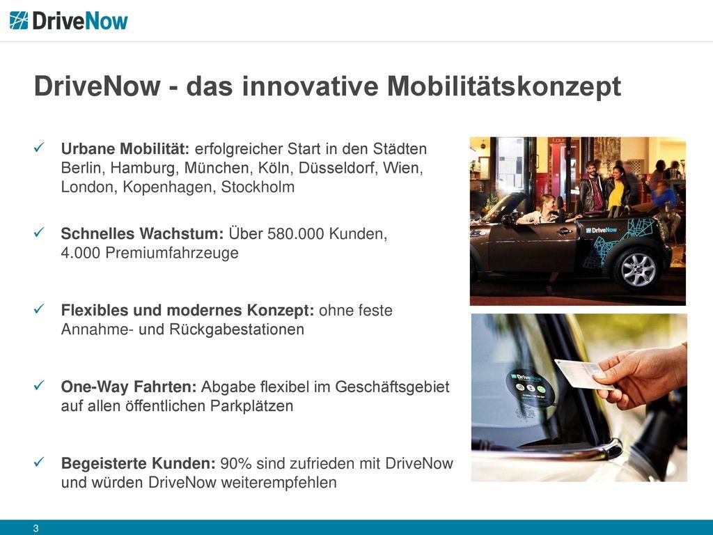 DriveNow - das innovative Mobilitätskonzept