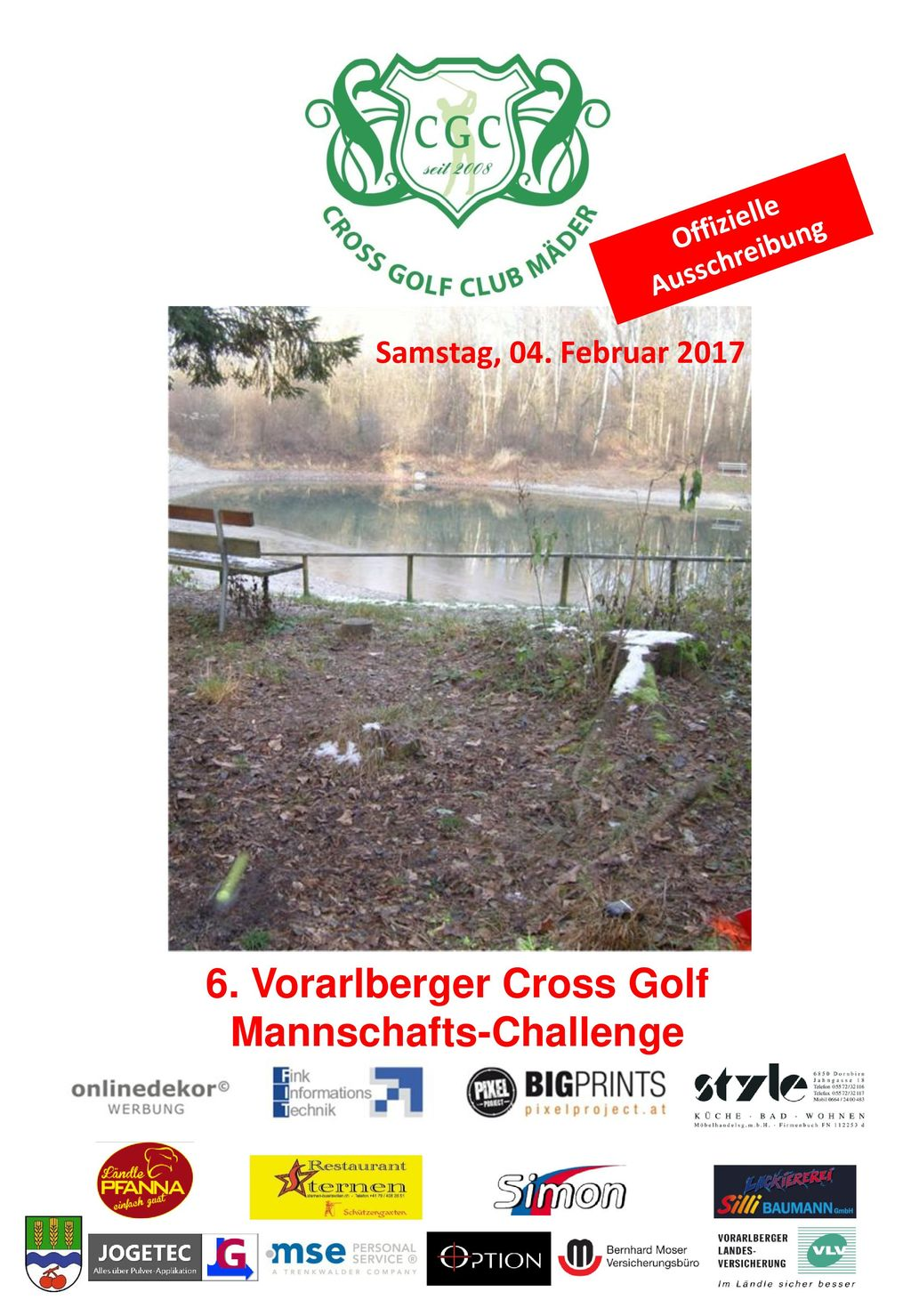 6. Vorarlberger Cross Golf Mannschafts-Challenge