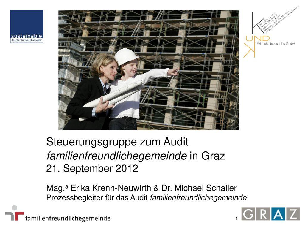 Steuerungsgruppe zum Audit familienfreundlichegemeinde in Graz