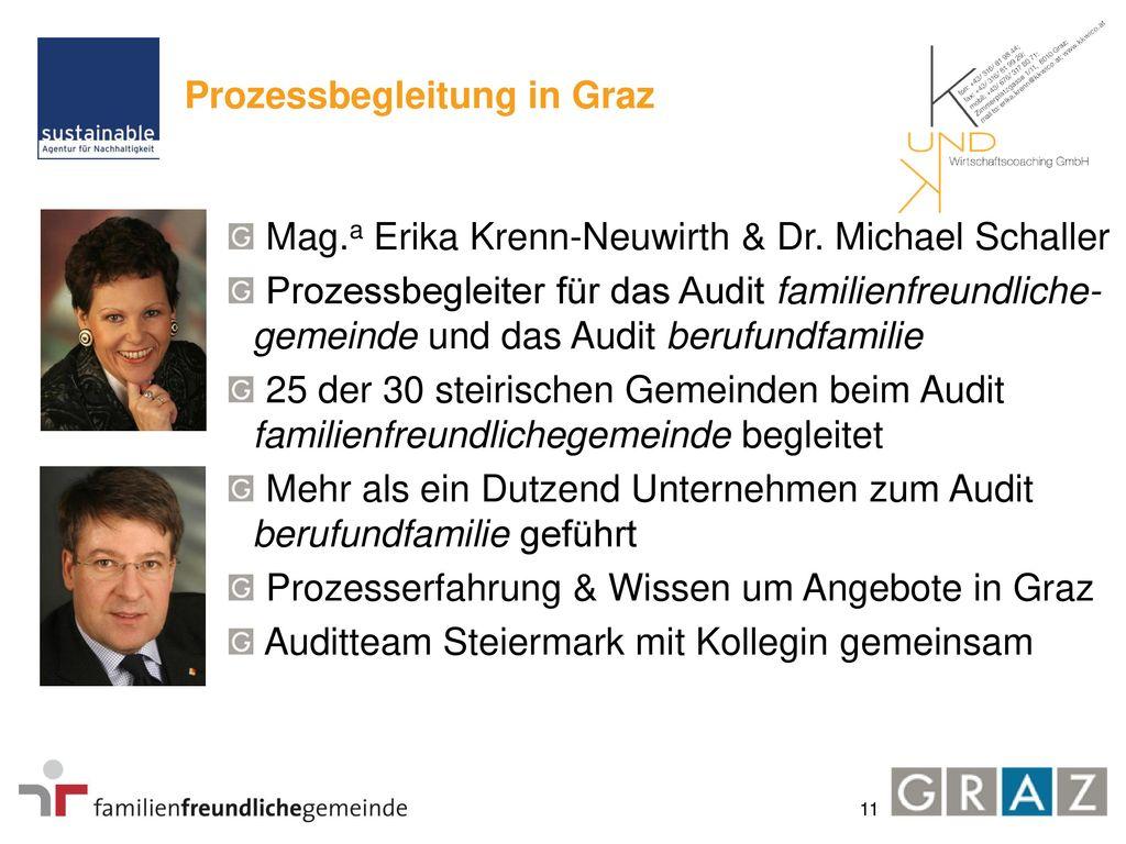 Projektablauf in Graz