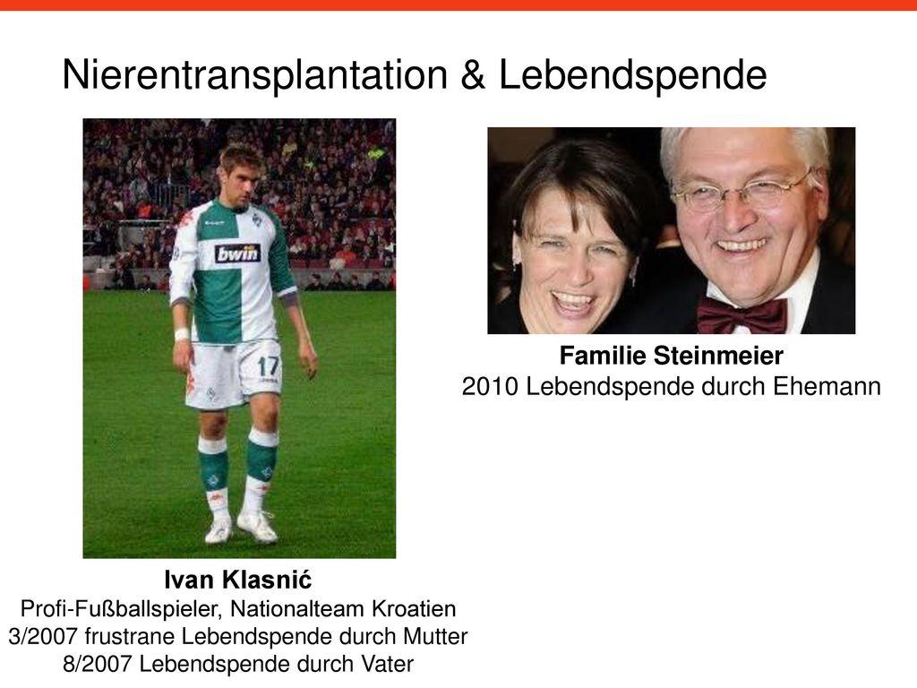 Nierentransplantation & Lebendspende