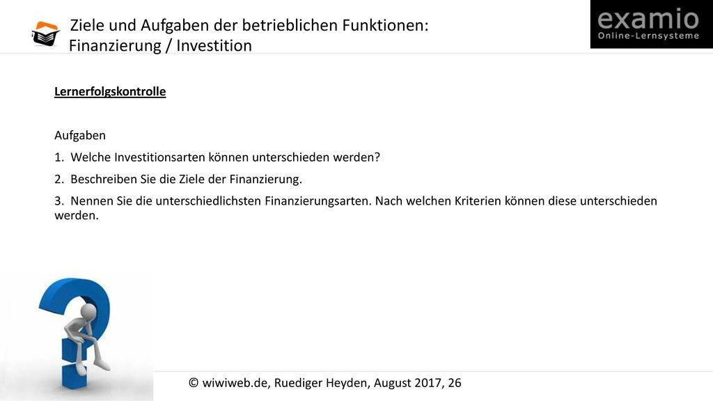 Beteiligungsfinanzierung Berechnen : betrieblichen funktionen ppt herunterladen ~ Themetempest.com Abrechnung