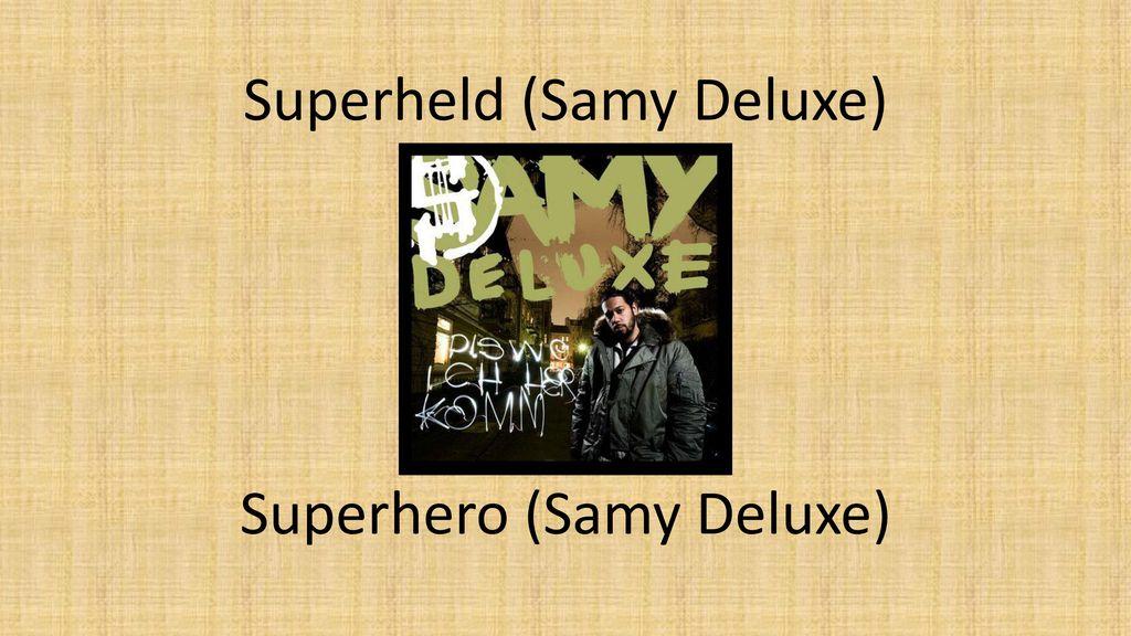 Superheld (Samy Deluxe)