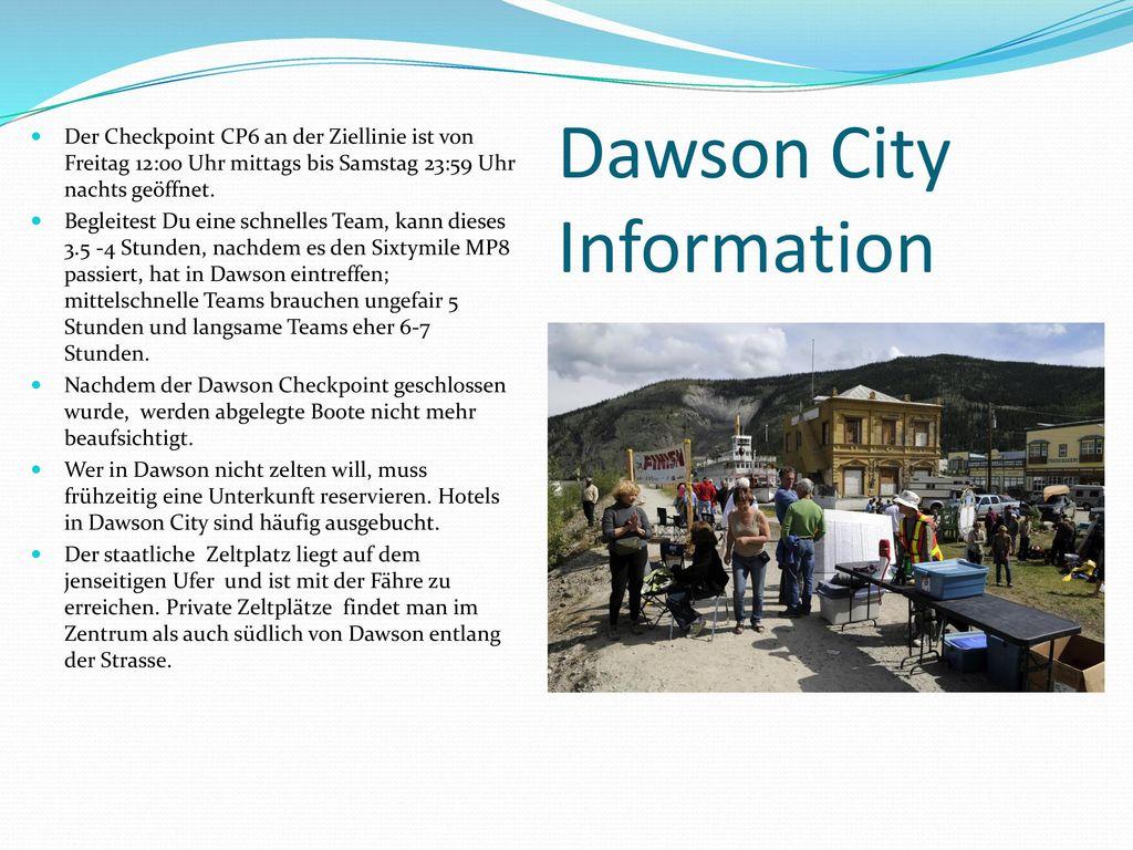 Dawson City Information
