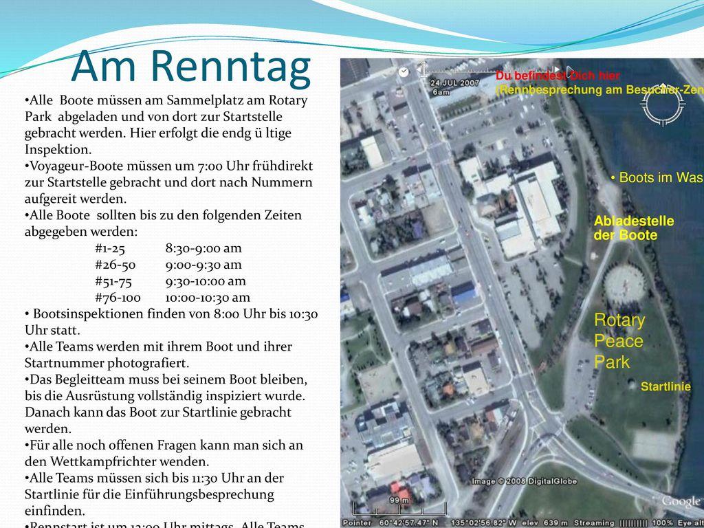 Am Renntag RotaryPeace Park