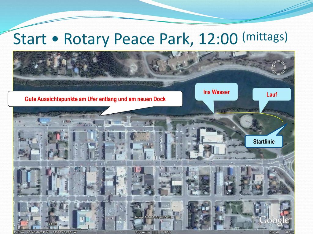 Start • Rotary Peace Park, 12:00 (mittags)