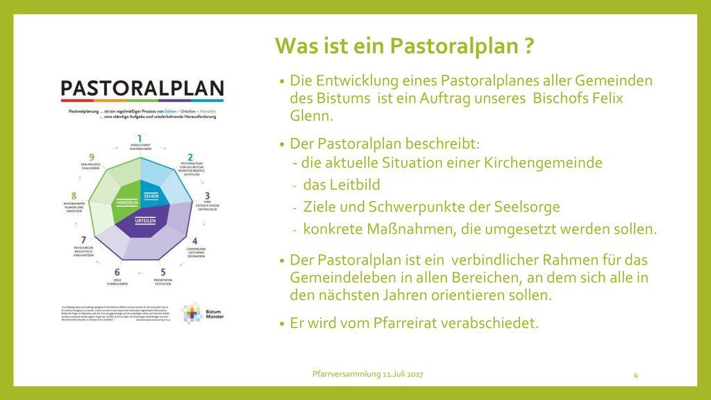 Was ist ein Pastoralplan