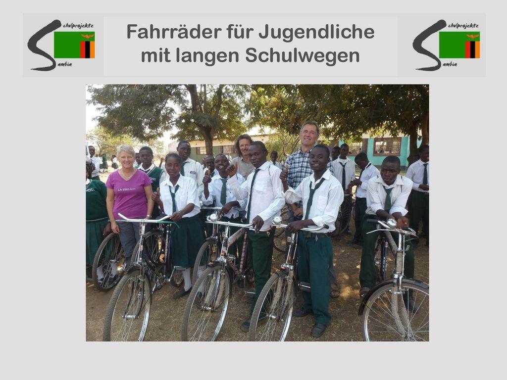 Fahrräder für Jugendliche mit langen Schulwegen
